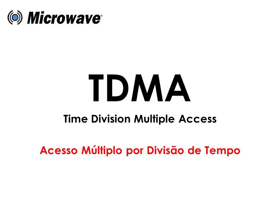 TDMA Time Division Multiple Access Acesso Múltiplo por Divisão de Tempo