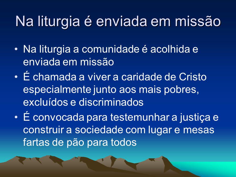 LITÚRGICA: •refere-se ao serviço que a Trindade realiza em nossas vidas, na humanidade e na história.