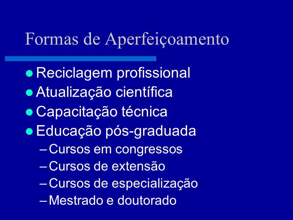 O Que É Educação Continuada É o conjunto das atividades educacionais que servem para manter, desenvolver ou aumentar o conhecimento, as habilidades e o desempenho e relacionamento profissional que um médico usa para prover serviços para seus pacientes, para o público ou para a profissão.