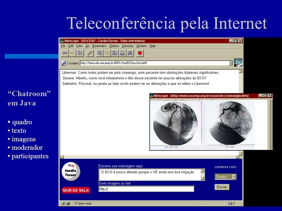 Teleconferência pela Internet Entrada na Sala Virtual CardioFórum Sociedade de Cardiologia do Estado de São Paulo