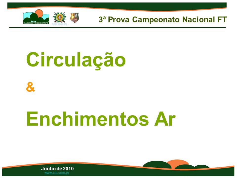 Junho de 2010 www.ctc.com.pt Circulação & Enchimentos Ar 3ª Prova Campeonato Nacional FT