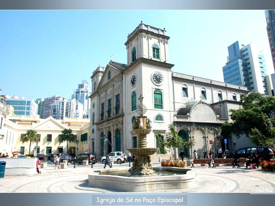 Hospital de S.Rafael - fundado em 1569. Hoje é o Consulado Geral de Portugal em RAEM.