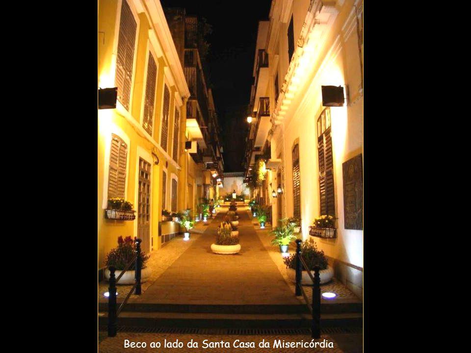 Santa Casa da Misericórdia - fundada pelo primeiro bispo de Macau,,D.