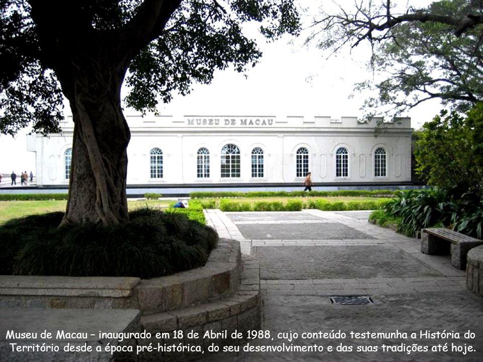 Museu de Macau na Fortaleza do Monte