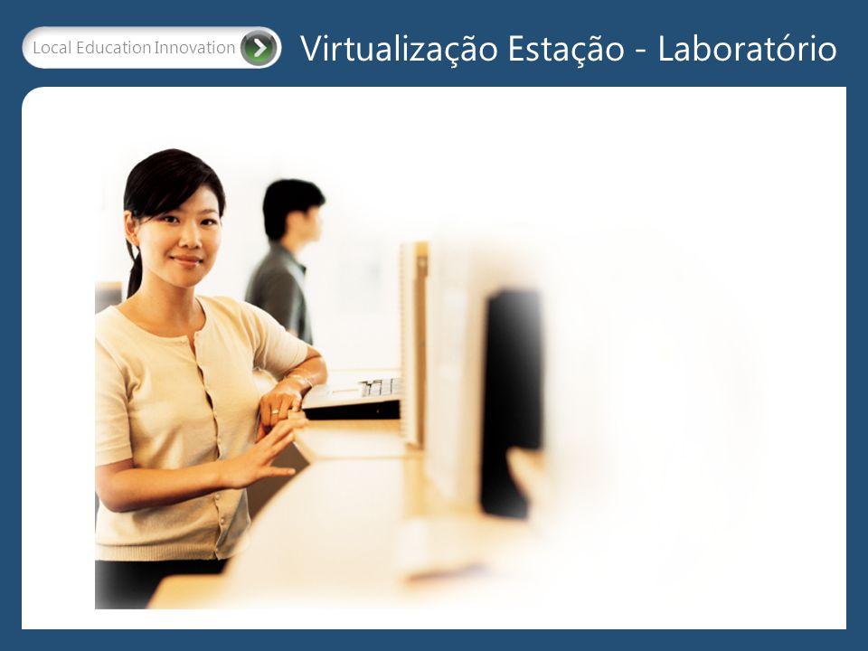 Local Education Innovation Virtualização Estação - Laboratório