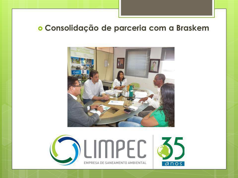  Consolidação de parceria com a Braskem