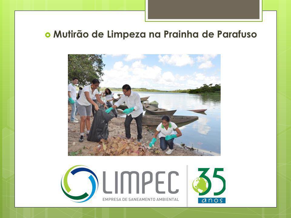  Campanha ambiental durante a Lavagem de Arembepe
