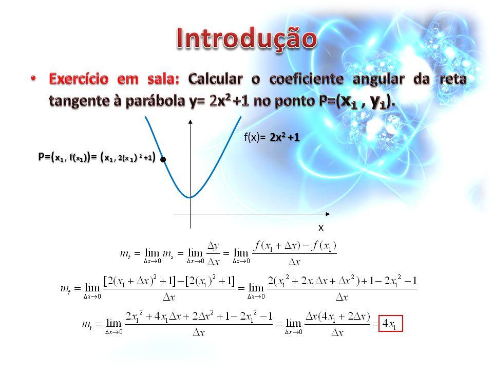 2x 2 +1 f(x)= 2x 2 +1 x P=( x 1, f( x 1 ) )= ( x 1, 2(x 1 ) 2 +1 )