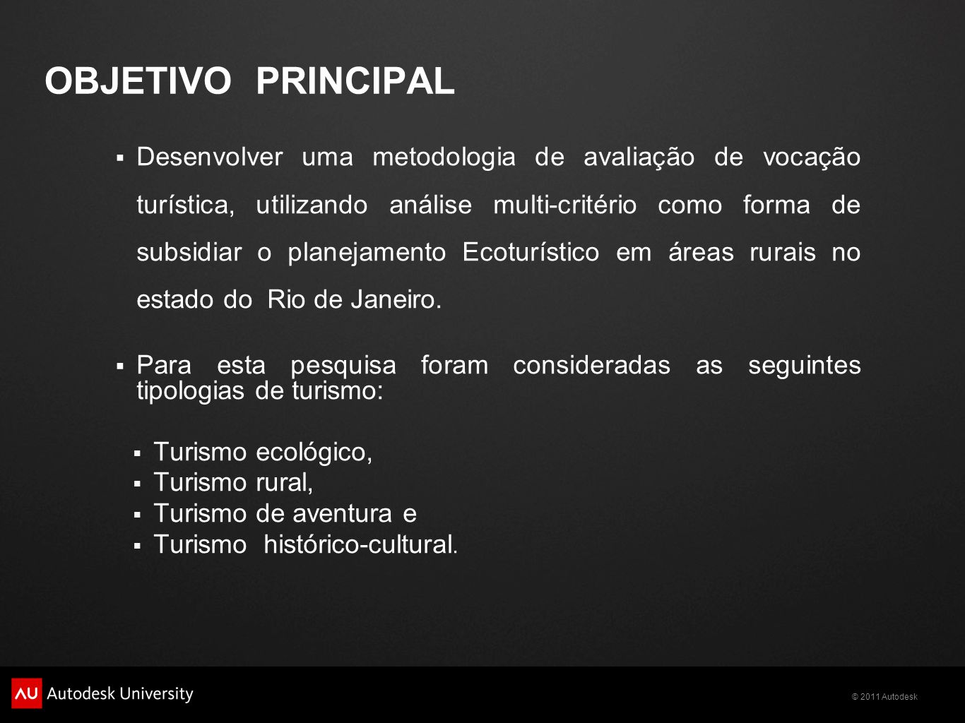 © 2011 Autodesk CÁLCULO