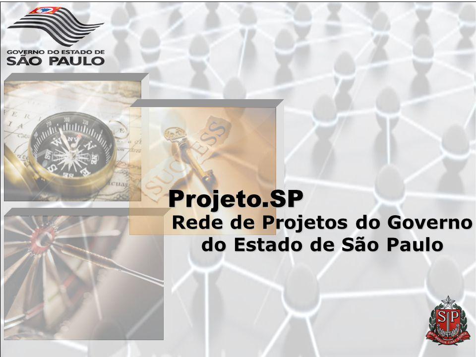 Rede de Projetos do Governo do Estado de São Paulo Projeto.SP