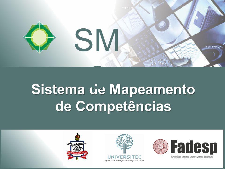 Sistema de Mapeamento de Competências SMC 3 Empresário O sistema é aberto à empresas para:  Cadastro de serviços tecnológicos.