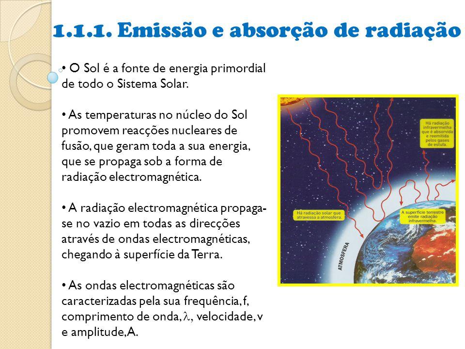 • O Sol é a fonte de energia primordial de todo o Sistema Solar. • As temperaturas no núcleo do Sol promovem reacções nucleares de fusão, que geram to