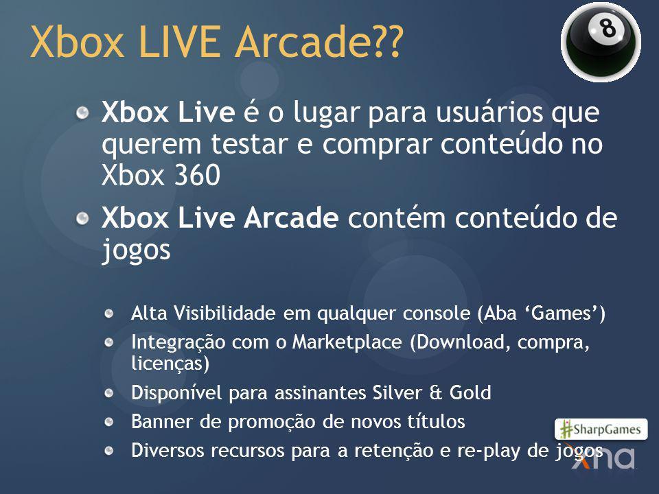 Xbox LIVE Arcade?.