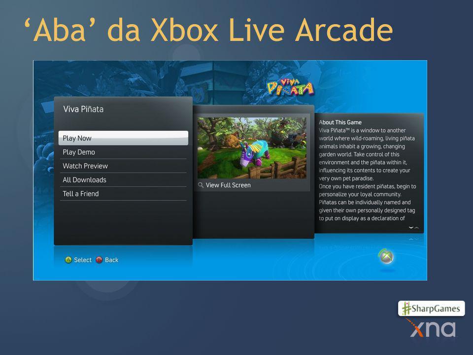 'Aba' da Xbox Live Arcade