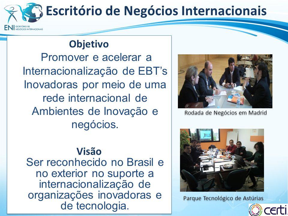 Slide 3 Escritório de Negócios Internacionais Parque Tecnológico de Astúrias Rodada de Negócios em Madrid Objetivo Promover e acelerar a Internacional