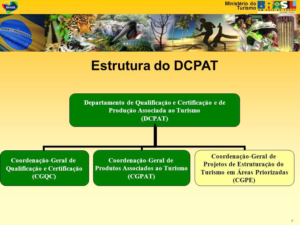 Ministério do Turismo 18 • Projeto: Inserção Socioeconômica da População Local na Cadeia Produtiva do Turismo, Município de Mata de São João – Bahia.