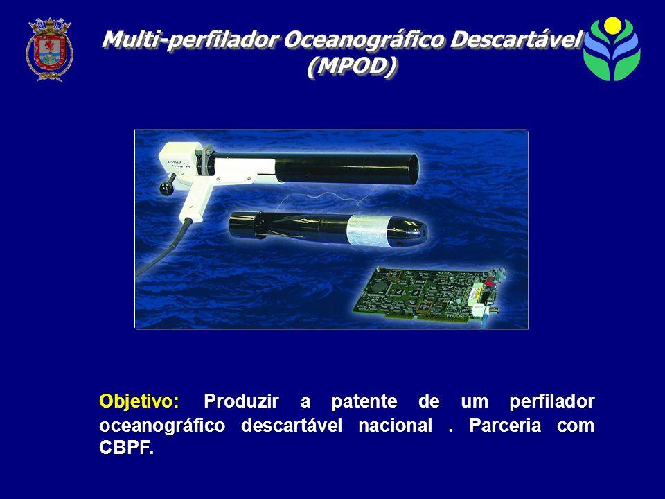 Objetivo: Produzir a patente de um perfilador oceanográfico descartável nacional.