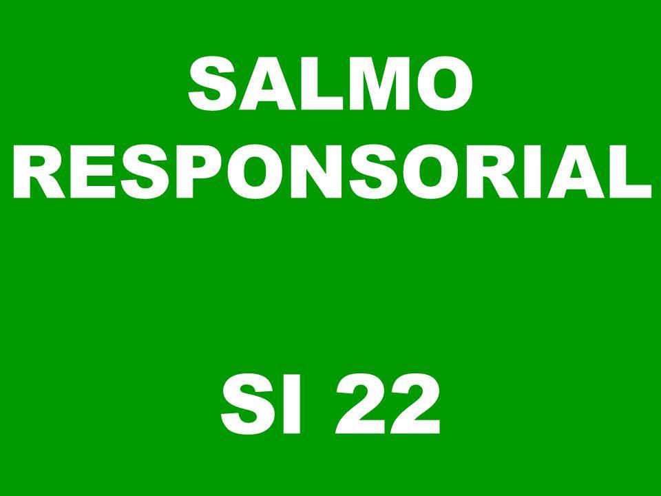 SALMO RESPONSORIAL Sl 22