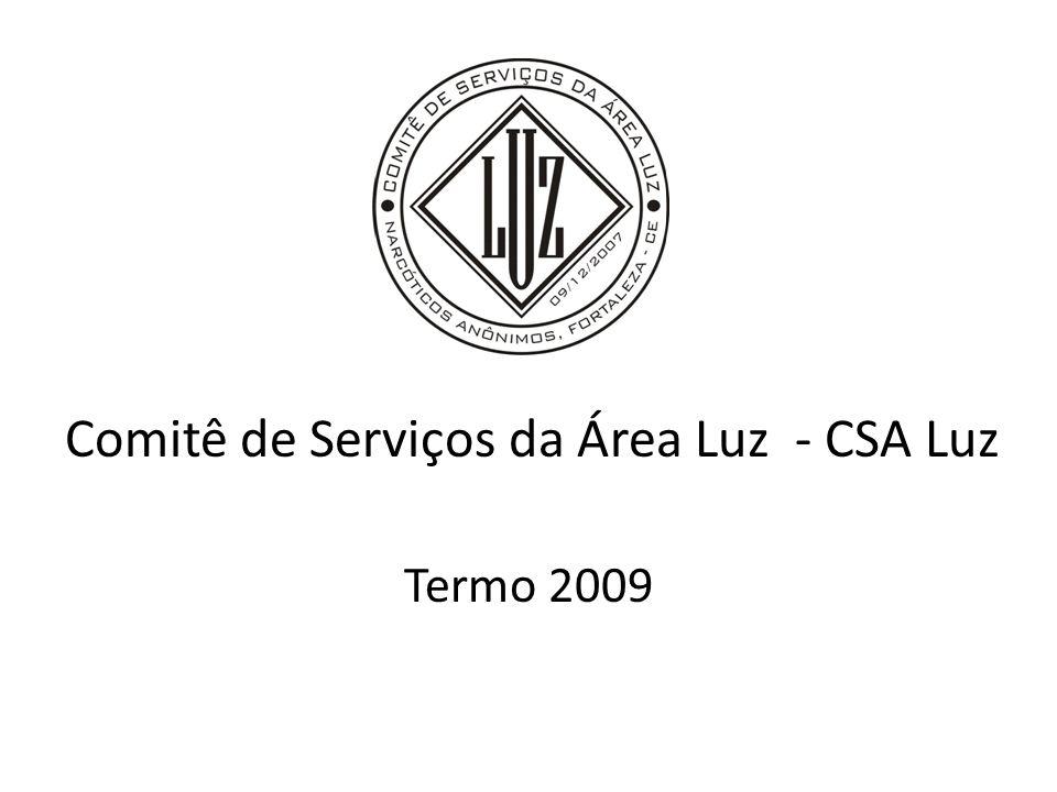 Comitê de Serviços da Área Luz - CSA Luz Termo 2009