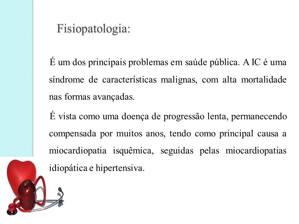 Fisiopatologia: É um dos principais problemas em saúde pública.