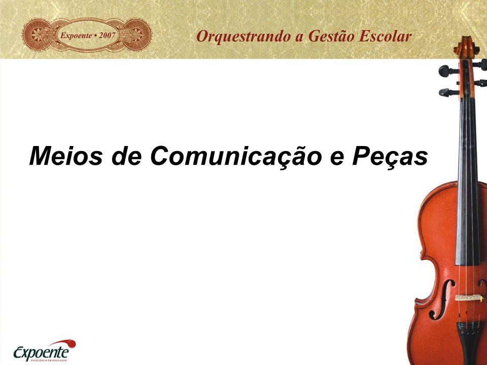 Meios de Comunicação e Peças