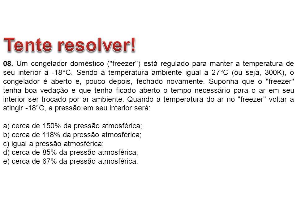 08. 08. Um congelador doméstico (