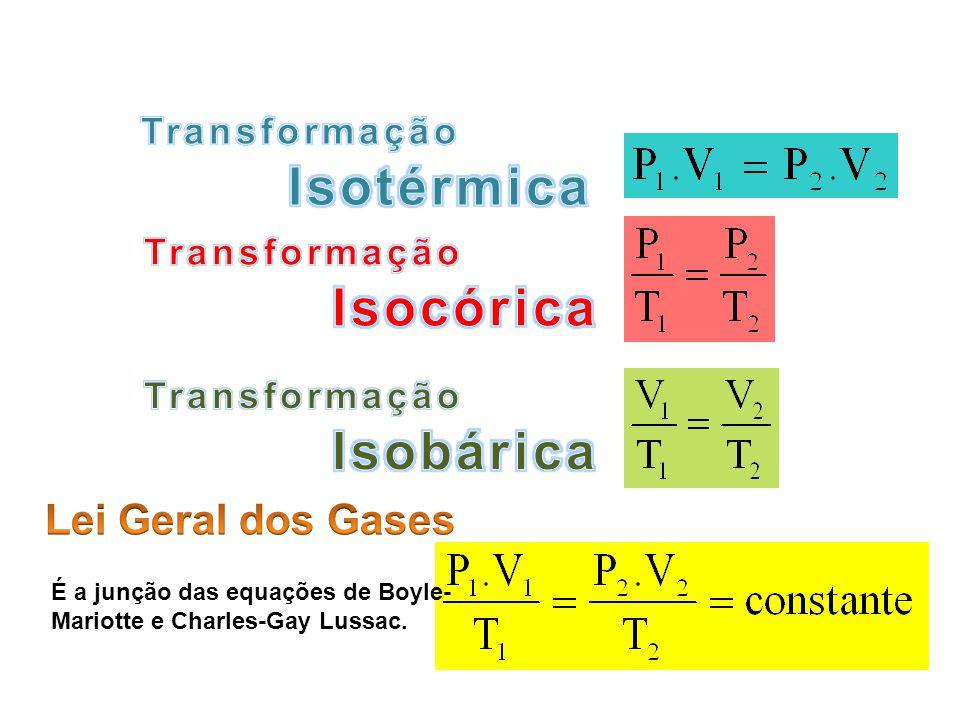 É a junção das equações de Boyle- Mariotte e Charles-Gay Lussac. FÍSICA - 2º ano do Ensino Médio Lei Geral dos Gases