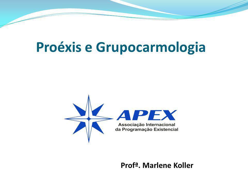 Curso: Introdução à Programação Existencial Proéxis e Grupocarmologia Profª. Marlene Koller