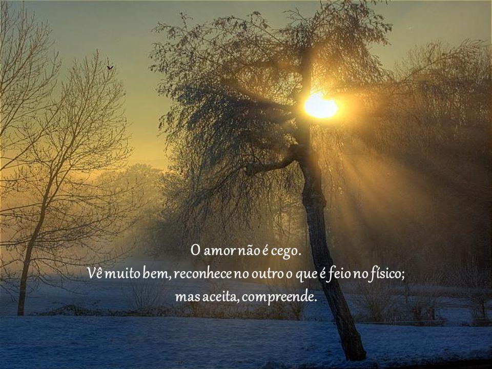 Quem disse que o amor se reveste de paciência sem limites, doação, renúncia; acho que se enganou.