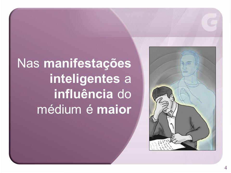 5 Os Espíritos usam a linguagem do pensamento, mas, ao se exprimirem por via mediúnica, utilizam ideias e vocabulário do médium. Therezinha Oliveira