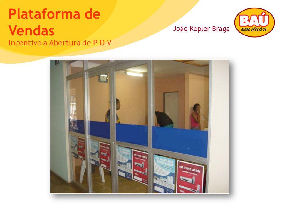 João Kepler Braga Plataforma de Vendas Incentivo a Abertura de P D V