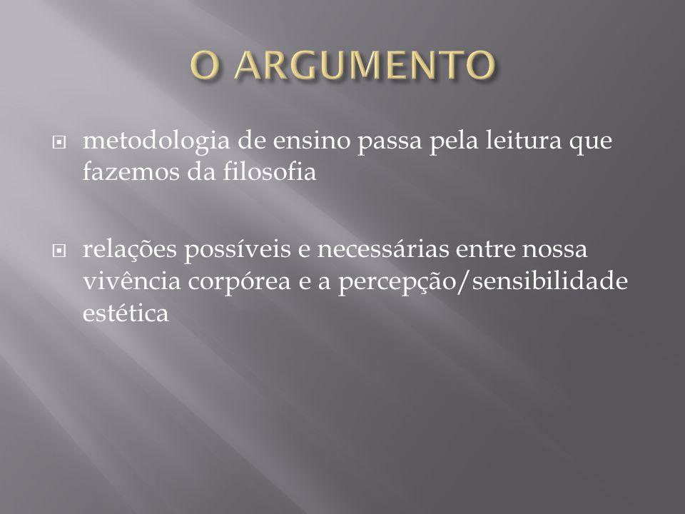  PRESERVAR O LUGAR DA FILOSOFIA  PRESENÇA DA EDUCAÇÃO MUSICAL NAS ESCOLAS  DIÁLOGO INTERDISCIPLINAR  LEITURA DE TEXTOS FILOSÓFICOS  REFLEXÃO CONCEITUAL  LENTA  GRADUAL  CONTEXTUALIZADA