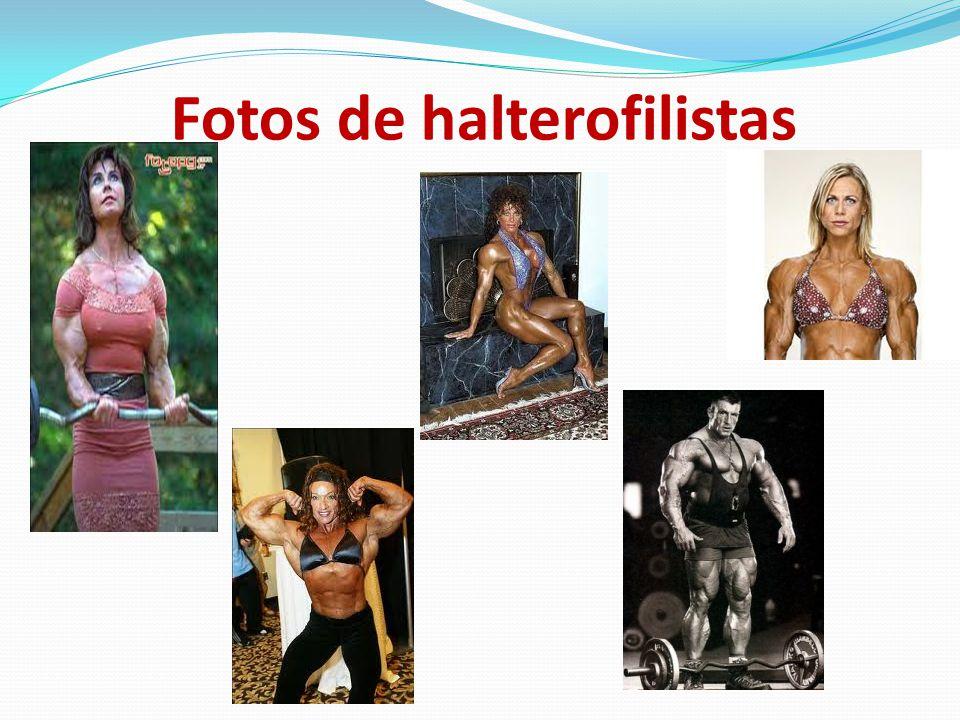 Fotos de halterofilistas