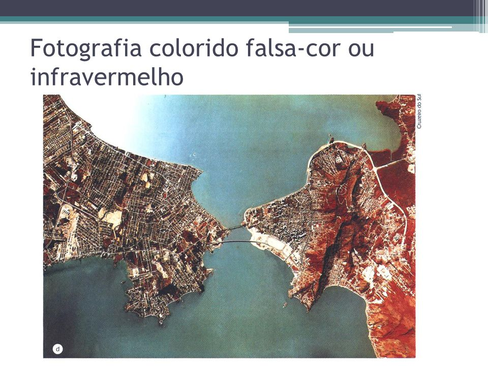 Fotografia colorido falsa-cor ou infravermelho