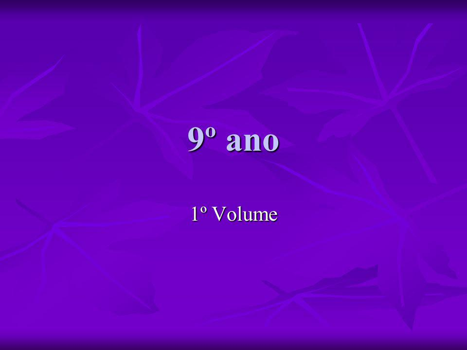 9º ano 1º Volume