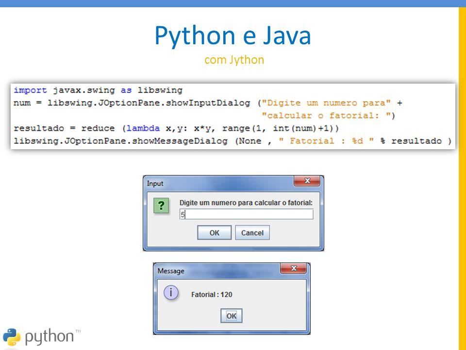 Python e Java com Jython