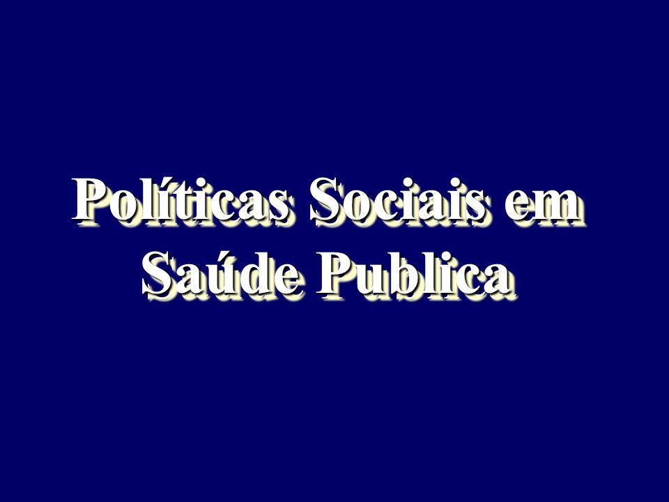 Políticas Sociais em Saúde Publica