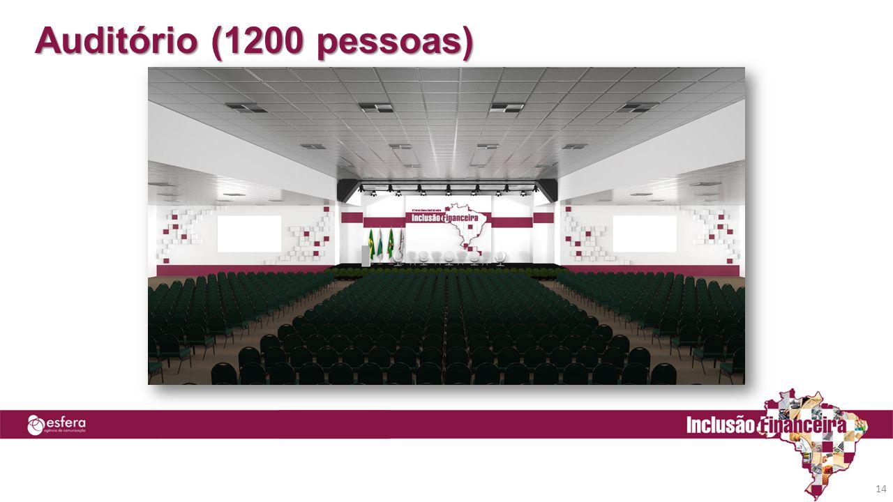 Auditório (1200 pessoas) 14