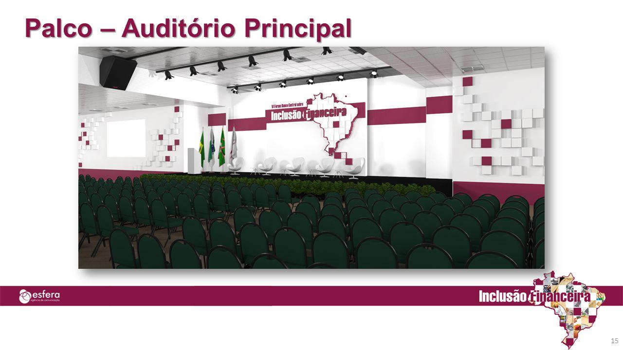 Palco – Auditório Principal 15