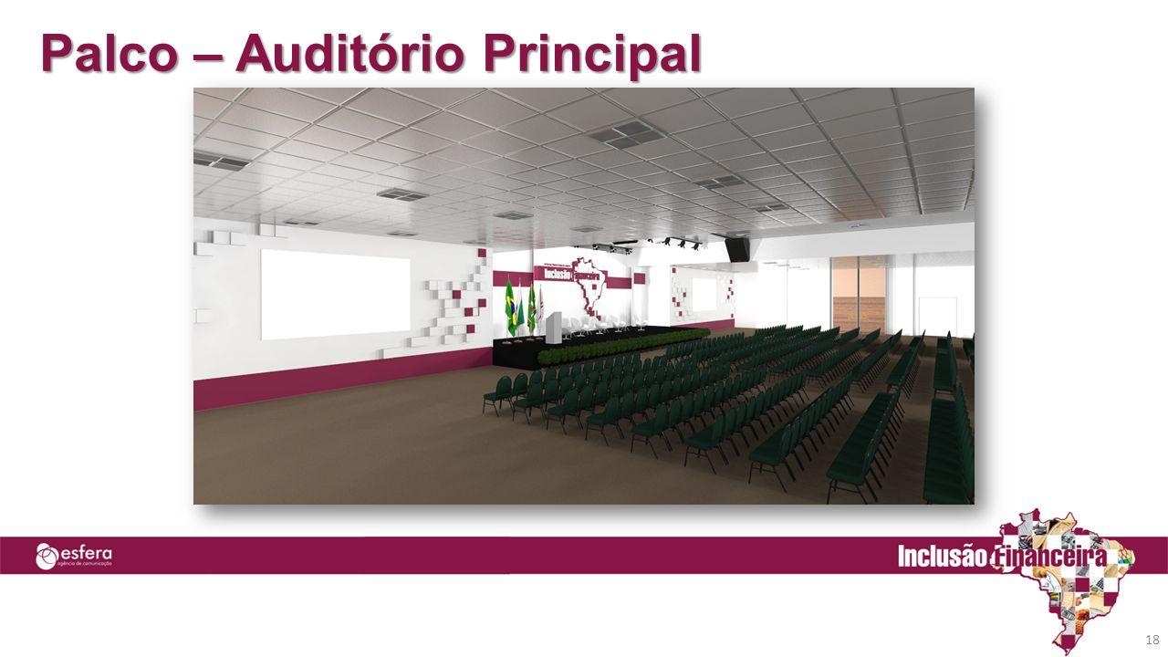 Palco – Auditório Principal 18