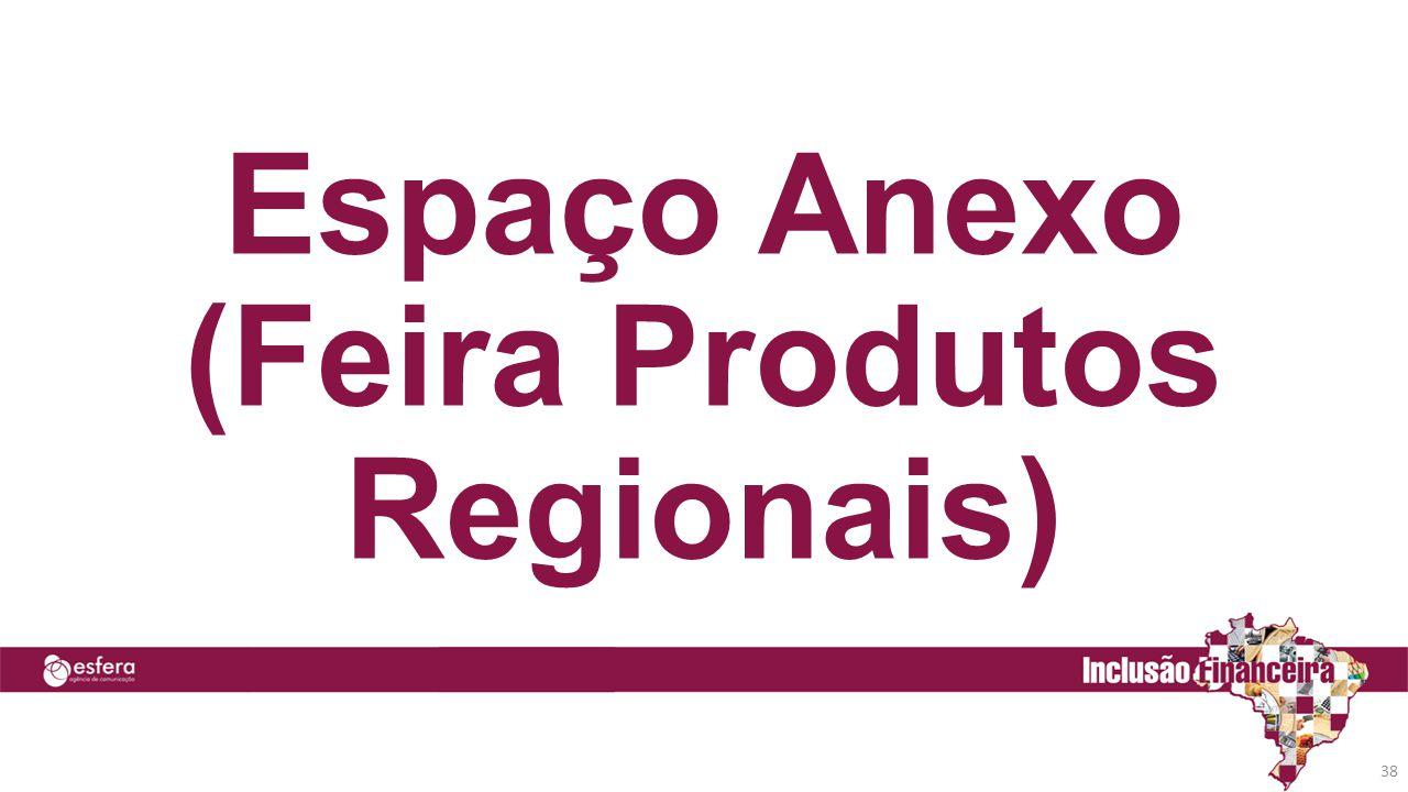 38 Espaço Anexo (Feira Produtos Regionais)