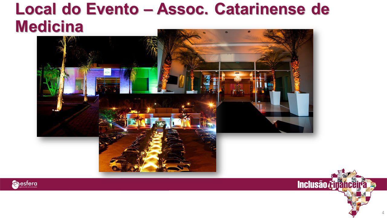 Local do Evento – Assoc. Catarinense de Medicina 4
