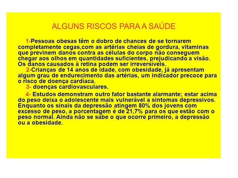 •Nutrição •Topo da Pirâmide: gorduras, manteigas, margarinas, óleos, açúcares, doces, refrigerantes.