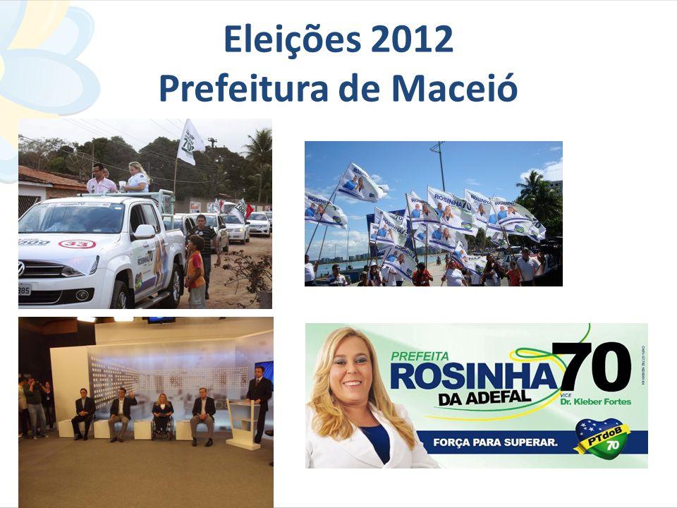 Eleições 2012 Prefeitura de Maceió
