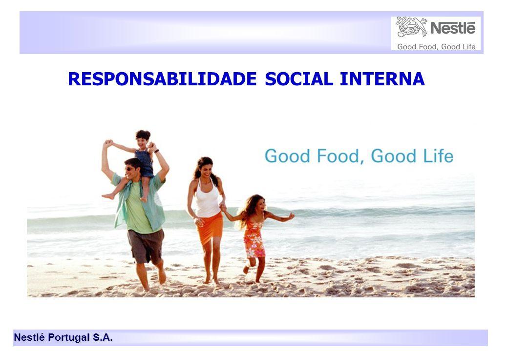 Nestlé Portugal S.A. 14 RESPONSABILIDADE SOCIAL INTERNA