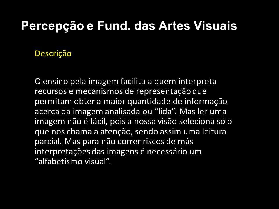 Abstrato Percepção e Fund. das Artes Visuais