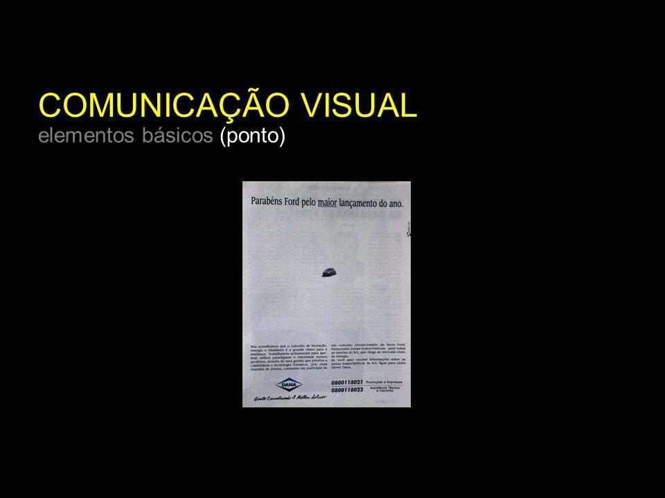 COMUNICAÇÃO VISUAL elementos básicos (ponto)