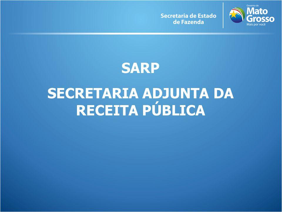 SARP SECRETARIA ADJUNTA DA RECEITA PÚBLICA