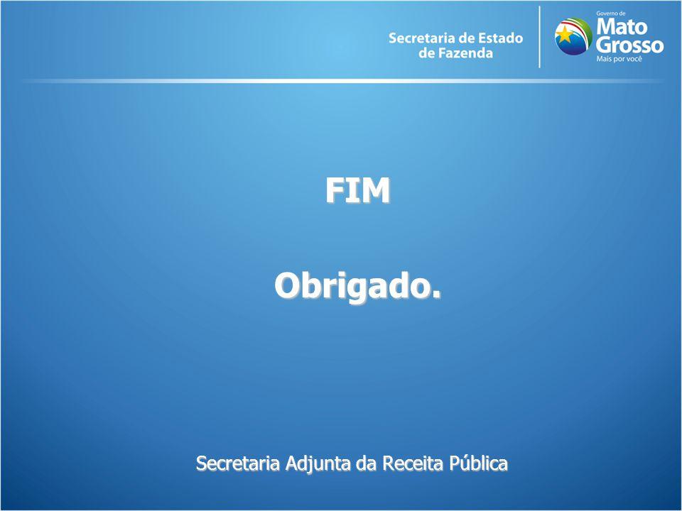 Secretaria Adjunta da Receita Pública FIMObrigado.