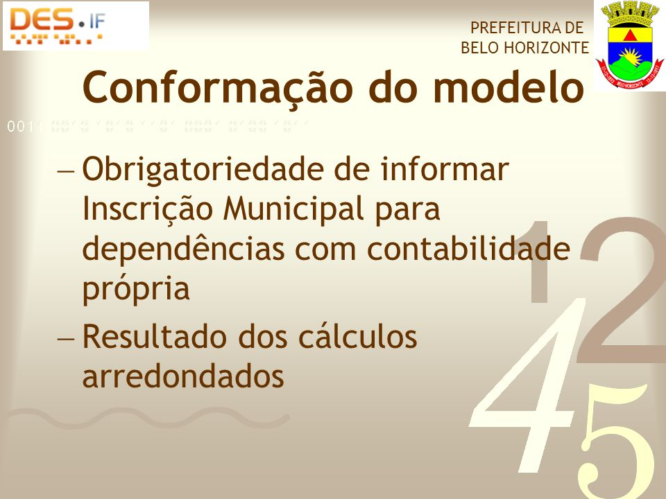 Aplicativo cliente PREFEITURA DE BELO HORIZONTE